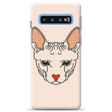 """Samsung Galaxy S10 Plus TPU dėklas unikaliu dizainu 1.0 mm """"u-case Airskin Kato design"""""""