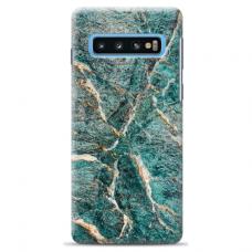 "Samsung Galaxy S10 TPU dėklas unikaliu dizainu 1.0 mm ""u-case Airskin Marble 1 design"""