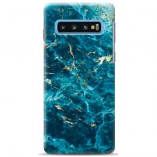 "Samsung Galaxy S10 TPU dėklas unikaliu dizainu 1.0 mm ""u-case Airskin Marble 2 design"""