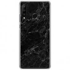 "Huawei P30 Lite TPU dėklas unikaliu dizainu 1.0 mm ""u-case Airskin Marble 4 design"""