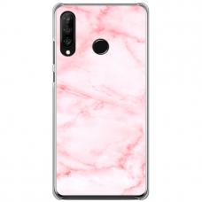 "Huawei P30 Lite TPU dėklas unikaliu dizainu 1.0 mm ""u-case Airskin Marble 5 design"""