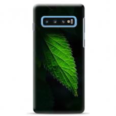 """Samsung Galaxy S10 TPU dėklas unikaliu dizainu 1.0 mm """"u-case Airskin Nature 1 design"""""""