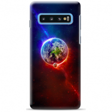 "Samsung Galaxy S10 Plus TPU dėklas unikaliu dizainu 1.0 mm ""u-case Airskin Nature 4 design"""