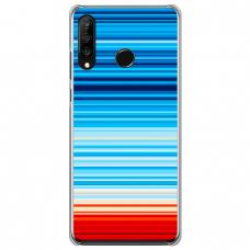 """Huawei P30 Lite TPU dėklas unikaliu dizainu 1.0 mm """"u-case Airskin Pattern 2 design"""""""