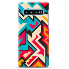 "Samsung Galaxy S10 Plus TPU dėklas unikaliu dizainu 1.0 mm ""u-case Airskin Pattern 7 design"""