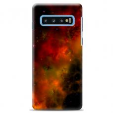 """Samsung Galaxy S10 TPU dėklas unikaliu dizainu 1.0 mm """"u-case Airskin Space 1 design"""""""