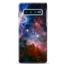 "Samsung Galaxy S10 Plus TPU dėklas unikaliu dizainu 1.0 mm ""u-case Airskin Space 2 design"""