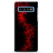 """Samsung Galaxy S10 TPU dėklas unikaliu dizainu 1.0 mm """"u-case Airskin Space 3 design"""""""