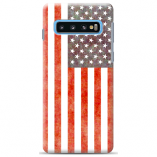 "Samsung Galaxy S10 Plus TPU dėklas unikaliu dizainu 1.0 mm ""u-case Airskin USA design"""