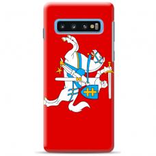 """Samsung Galaxy S10 Plus TPU dėklas unikaliu dizainu 1.0 mm """"u-case Airskin Vytis design"""""""