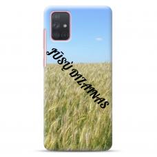 Samsung Galaxy A31 TPU dėklas nugarėlė su jūsų dizainu. Dėklas gaminamas su jūsų pateikta nuotrauka