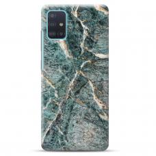 """Samsung Galaxy A51 TPU dėklas unikaliu dizainu 1.0 mm """"u-case Airskin Marble 1 design"""""""