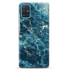 """Samsung Galaxy A51 TPU dėklas unikaliu dizainu 1.0 mm """"u-case Airskin Marble 2 design"""""""