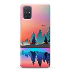 """Samsung Galaxy A51 TPU dėklas unikaliu dizainu 1.0 mm """"u-case Airskin Nature 5 design"""""""