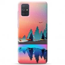 """Samsung Galaxy A52 TPU dėklas unikaliu dizainu 1.0 mm """"u-case Airskin Nature 5 design"""""""