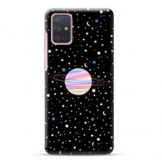 """Samsung Galaxy A51 TPU dėklas unikaliu dizainu 1.0 mm """"u-case Airskin Planet design"""""""