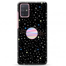 """Samsung Galaxy A52 TPU dėklas unikaliu dizainu 1.0 mm """"u-case Airskin Planet design"""""""