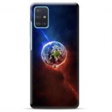 """Samsung Galaxy A51 TPU dėklas unikaliu dizainu 1.0 mm """"u-case Airskin Nature 4 design"""""""