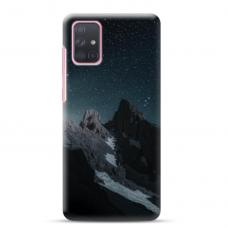 "Samsung Galaxy A02s TPU dėklas unikaliu dizainu 1.0 mm ""u-case Airskin Mountains 1 design"""