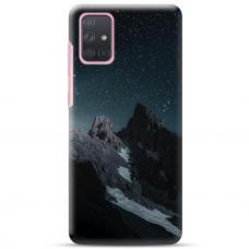 "Samsung Galaxy A52 TPU dėklas unikaliu dizainu 1.0 mm ""u-case Airskin Mountains 1 design"""