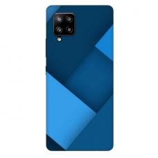 """Samsung Galaxy A42 TPU dėklas unikaliu dizainu 1.0 mm """"u-case Airskin Blue design"""""""