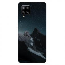 "Samsung Galaxy A42 TPU dėklas unikaliu dizainu 1.0 mm ""u-case Airskin Mountains 1 design"""