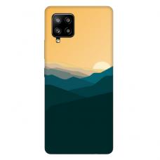 "Samsung Galaxy A42 TPU dėklas unikaliu dizainu 1.0 mm ""u-case Airskin Mountains 2 design"""
