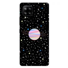 """Samsung Galaxy A42 TPU dėklas unikaliu dizainu 1.0 mm """"u-case Airskin Planet design"""""""