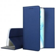 iphone 13 pro atverčiamas dėklas Smart magnet Mėlynas