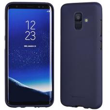 Samsung Galaxy a6 2018 dėklas MERCURY JELLY SOFT FEELING silikonas matinis mėlynas