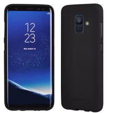 Samsung Galaxy a6 2018 DĖKLAS MERCURY JELLY SOFT SILIKONINIS juodas