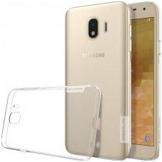 Samsung galaxy J4  2018 dėklas Nillkin Nature permatomas 0,6 mm TPU