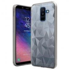 Samsung galaxy A6 2018 dėklas Prism diamond Silkonas skaidrus