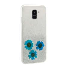 Samsung Galaxy a6 2018 dėklas vennus real flower 1 silikonas