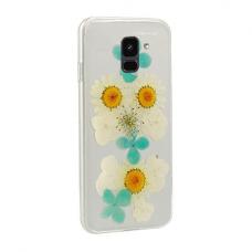 Samsung Galaxy a6 2018 dėklas vennus real flower 2 silikonas