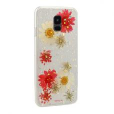 Samsung Galaxy a6 2018 dėklas vennus real flower 5 silikonas