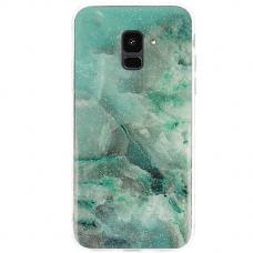 Samsung galaxy A6 2018 dėklas Vennus Stone TPU plastikas baltas žalias