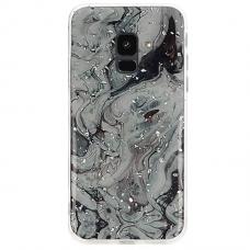 Samsung galaxy A6 2018 dėklas Vennus Stone TPU plastikas juodas