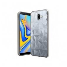 Samsung galaxy A6 plus 2018 dėklas Prisim diamond Silkonas skaidrus