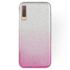 xiaomi mi a3 dėklas Glitter TPU rožinis