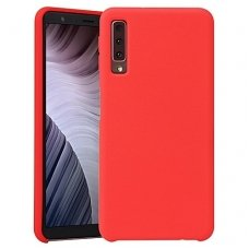 Samsung Galaxy a7 2018 DĖKLAS MERCURY JELLY SOFT SILIKONINIS raudonas