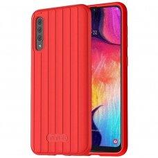 Samsung galaxy A70 dėklas Araree Airdome raudonas