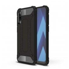 Samsung galaxy a70 dėklas Hybrid Armor  TPU+PC plastikas juodas