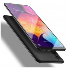 Samsung galaxy a70 dėklas X-LEVEL GUARDIAN silikonas juodas