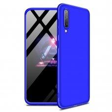 Samsung galaxy a70 HURTEL dėklas dvipusis 360 plastikas mėlynas