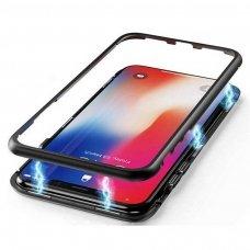 Samsung galaxy A70 magnetinis metalinis dėklas Wozinsky juodas