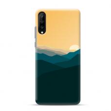 "Samsung Galaxy a70 TPU dėklas unikaliu dizainu 1.0 mm ""u-case Airskin Mountains 2 design"""