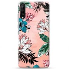 """Samsung Galaxy A70 TPU dėklas unikaliu dizainu 1.0 mm """"u-case Airskin Flowers 1 design"""""""