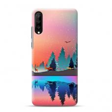 """Samsung Galaxy a70 TPU dėklas unikaliu dizainu 1.0 mm """"u-case Airskin Nature 5 design"""""""