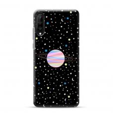 """Samsung Galaxy a70 TPU dėklas unikaliu dizainu 1.0 mm """"u-case Airskin Planet design"""""""